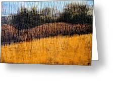 Oklahoma Prairie Landscape Greeting Card by Ann Powell