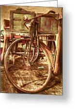 Ol' Rusty Antique Greeting Card by Debra and Dave Vanderlaan