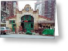 Old 72nd Street Station - New York City Greeting Card by Daniel Hagerman