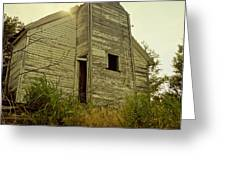 Old Abandoned Country  School Greeting Card by Ann Powell