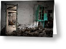 Old Abandoned Kitchen Greeting Card by RicardMN Photography