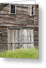 Old Barn In Maine Greeting Card by Keith Webber Jr