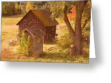 Old Blacksmiths Shop  Greeting Card by Jeff Swan