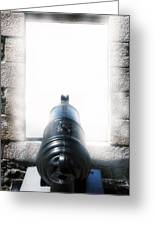 Old Cannon Greeting Card by Joana Kruse