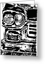 Old Car Greeting Card by Jame Hayes