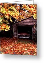 Old Car Greeting Card by Joe Klune