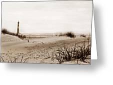 Old Charleston Harbor Greeting Card by Skip Willits