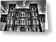 Old City Jail Greeting Card by Drew Castelhano