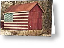 Old Country America Greeting Card by Trish Tritz