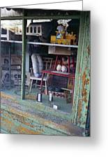 Old Country Store Display In Virginia Greeting Card by Thomas D McManus