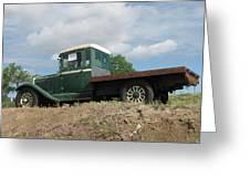 Old Dodge Truck  Greeting Card by Steven Parker