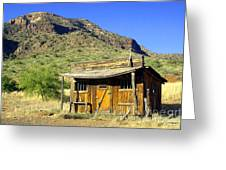 Old General Store - Salt River Canyon Greeting Card by Douglas Taylor