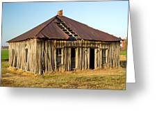 Old House Place Arkansas 2 Greeting Card by Douglas Barnett