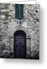 Old Italian House Greeting Card by Joana Kruse