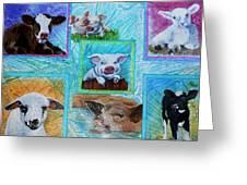 Old Macdonalds Nursery Greeting Card by Liz Borkhuis