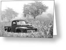 Old Pick Up Truck Greeting Card by Debra and Dave Vanderlaan