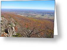Old Rag Hiking Trail - 121234 Greeting Card by DC Photographer