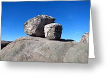 Old Rag Hiking Trail - 121239 Greeting Card by DC Photographer