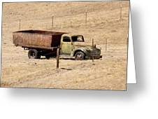 Old Ranch Truck Greeting Card by Art Block Collections