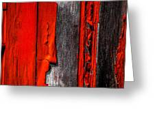 Old Red Barn One Greeting Card by Bob Orsillo