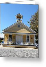 Old Sacramento California Schoolhouse 5d25543 Greeting Card by Wingsdomain Art and Photography