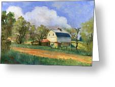 Old Saunders Barn Greeting Card by Jeff Brimley