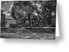 Old Scene-baker Wagon Greeting Card by Darcy Michaelchuk