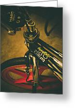Old School Cool Bmx - 1 Greeting Card by Jamian Stayt
