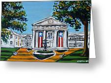 Old State House Greeting Card by Mitchell McClenney