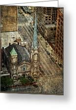 Old Stone Church Greeting Card by Dale Kincaid