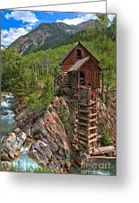 Old Time Colorado Greeting Card by Adam Jewell