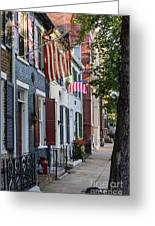 Old Town Alexandria Greeting Card by John Greim