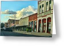 Old Town Elgin Greeting Card by Linda Phelps