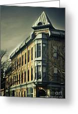 Old Town Fort Collins Greeting Card by Julieanna D