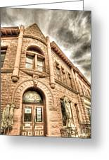 Old Town Sandstone Greeting Card by JulieannaD Photography