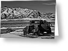 Old Truck Greeting Card by Robert Bales