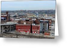 Old West Bottoms Kcmo Greeting Card by Liane Wright