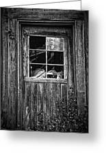 Old Window Greeting Card by Garry Gay