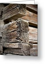 Old Wood Greeting Card by Frank Tschakert