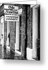 Olde N'awlins Cookery Greeting Card by John Rizzuto