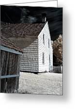 Olde Towne Angles Greeting Card by John Rizzuto