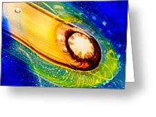 Omaste's Comet Greeting Card by Omaste Witkowski