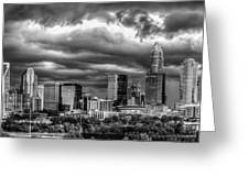 Ominous Charlotte Sky Greeting Card by Chris Austin