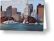 On A Clear Day Greeting Card by Laura Lee Zanghetti