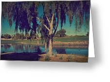 On A Lazy Afternoon Greeting Card by Laurie Search