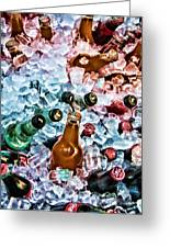 On Ice Greeting Card by Lana Trussell