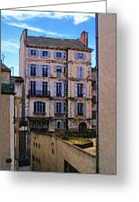 On Rue St. Claire - France Greeting Card by David Blank