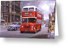 On The Golden Mile Greeting Card by Mike  Jeffries