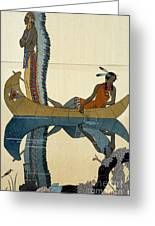 On The Missouri Greeting Card by Georges Barbier