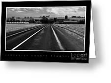 On The Road Greeting Card by Vilas Malankar